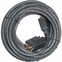 3GO - 5m VGA M/M cable VGA VGA (D-Sub) Negro