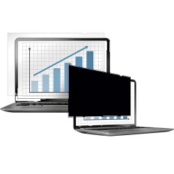 """Fellowes - PrivaScreen 15.4"""" Frameless display privacy filter"""