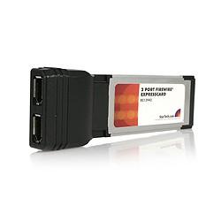 StarTech.com - Adaptador Tarjeta FireWire 400 de 2 Puertos 6 pines ExpressCard/34 34mm 1394a - 267442