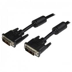 StarTech.com - Cable de 1m DVI-D de Enlace Simple Monoenlace - Macho a Macho - Negro - 1920x1200