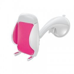 Celly - Flex15 Coche Soporte pasivo Rosa, Color blanco