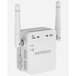 Netgear - WN3000RP Network transmitter & receiver Blanco