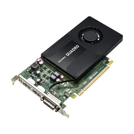 HP - Tarjeta gráfica NVIDIA Quadro K2200 de 4 GB