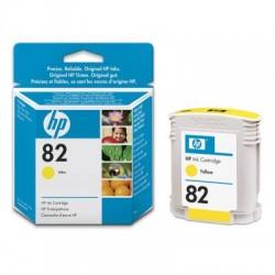 HP - Cartucho de tinta DesignJet 82 amarillo de 69 ml