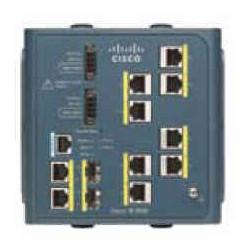 Cisco - IE-3000-8TC switch Gestionado L2 Fast Ethernet (10/100) Azul