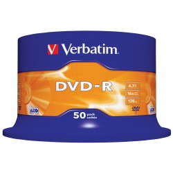 Verbatim - DVD-R Matt Silver 4.7GB DVD-R 50pieza(s)