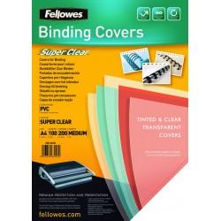 Fellowes - 5376001 cubierta A4 PVC Transparente 100 pieza(s)