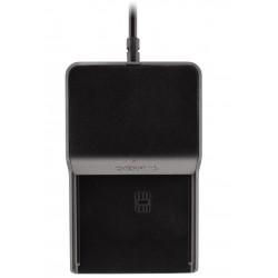 CHERRY - TC 1100 lector de tarjeta inteligente Interior Negro USB 2.0