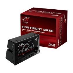 """ASUS - ROG Front Base 4"""" LCD Negro controlador de velocidad de ventilador"""