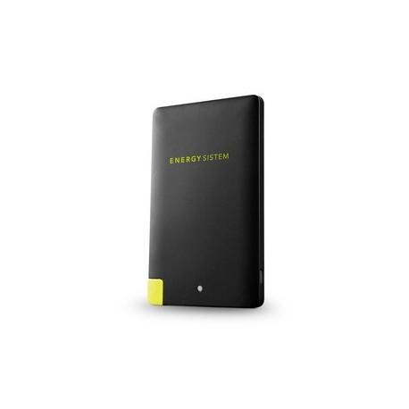 Energy Sistem - Extra Battery 2500 Polímero de litio 2500mAh Negro batería externa
