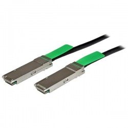StarTech.com - Cable de 2m QSFP+ Twinax Ethernet Direct Attach Pasivo de Cobre 40 Gigabits (40Gb/s)