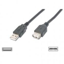 Nilox - MGAK7012AL cable USB 1,8 m USB A Negro