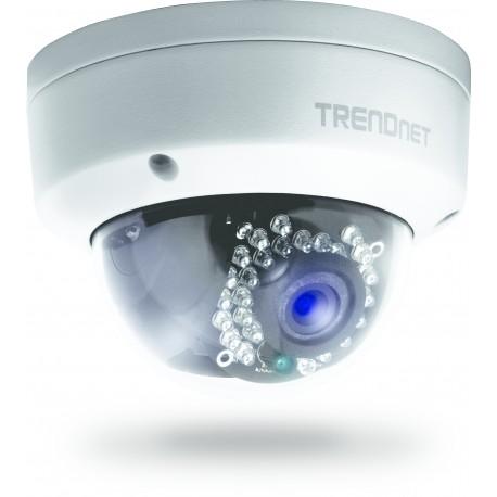 Trendnet - TV-IP321PI Exterior Almohadilla Negro, Color blanco cámara de vigilancia