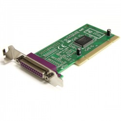 StarTech.com - Adaptador Tarjeta PCI Paralelo de 1 Puerto Perfil Bajo Low Profile DB25 IEEE1284