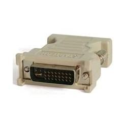 StarTech.com - Adaptador Conversor DVI-I a VGA - DVI-I Macho - HD15 Hembra - Blanco