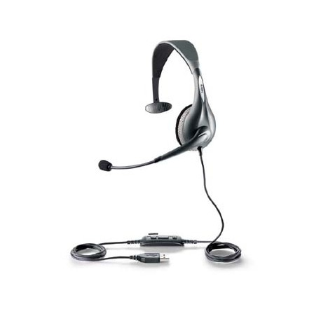 Jabra - UC VOICE 150 mono Monoaural Diadema Gris auricular con micrófono