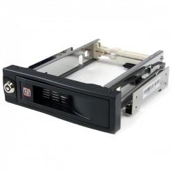 "StarTech.com - Rack Móvil Aluminio para Disco Duro HDD SATA de 3,5"" Pulgadas sin Bandeja Bahía de 5,25"""