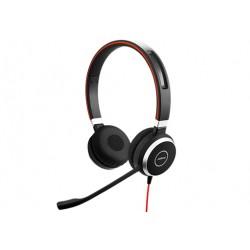 Jabra - Evolve 40 UC Stereo Auriculares Diadema Negro
