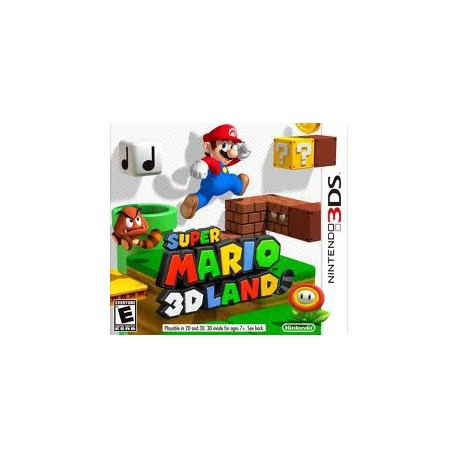 Nintendo - Super Mario 3D Land Nintendo 3DS vídeo juego