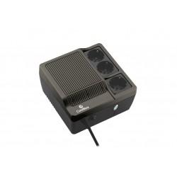 CoolBox - Sai Scudo 600 sistema de alimentación ininterrumpida (UPS) 600 VA 3 salidas AC