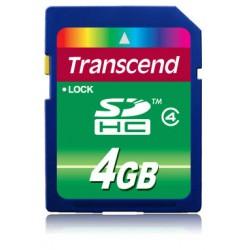 Transcend - TS4GSDHC4 4GB SDHC memoria flash