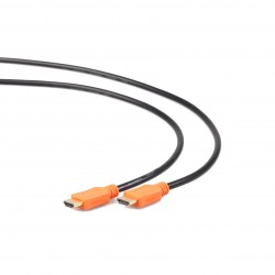Gembird - CC-HDMI4L-6 1.8m HDMI HDMI Negro, Naranja cable HDMI