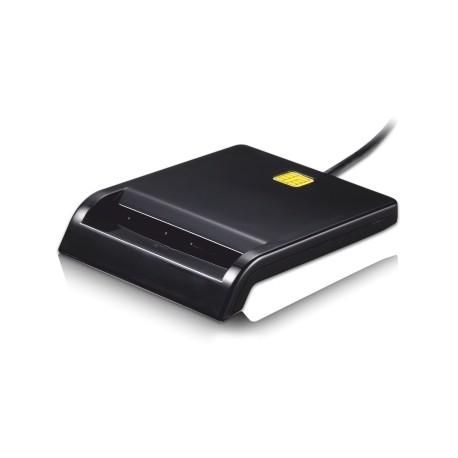 TooQ - LECTOR DE TARJETA DNIe EXTERNO USB 2.0 NEGRO