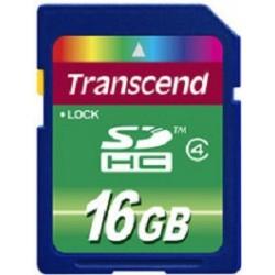 Transcend - TS16GSDHC4 16GB SDHC Clase 4 memoria flash