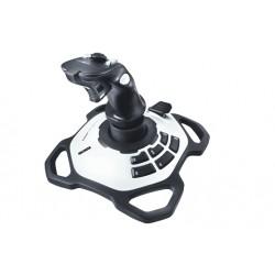 Logitech - Extreme 3D Pro Palanca de mando PC Negro, Blanco