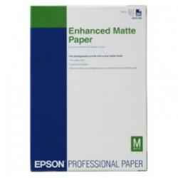 Epson - Enhanced Matte Paper, DIN A3+, 192 g/m², 100 hojas