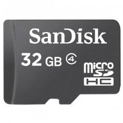 Sandisk - microSDHC 32GB memoria flash Clase 4
