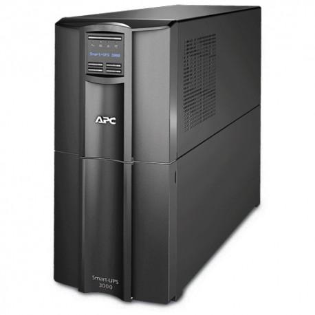 APC - Smart-UPS Línea interactiva 3000VA 9AC outlet(s) Torre Negro sistema de alimentación ininterrumpida (UPS)