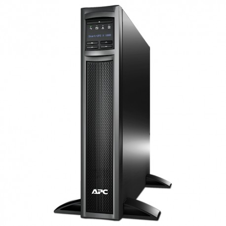 APC - Smart-UPS Línea interactiva 1000VA 8AC outlet(s) Montaje en rack/Torre o Montaje en bastidor/Torre Negro sist