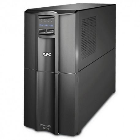 APC - Smart-UPS Línea interactiva 2200VA 9AC outlet(s) Torre Negro sistema de alimentación ininterrumpida (UPS)