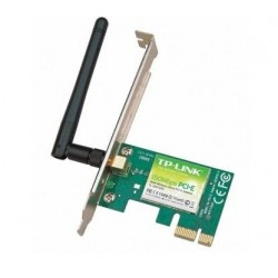TP-LINK - 150Mbps Wireless N PCI Express Adapter WLAN 150 Mbit/s Interno