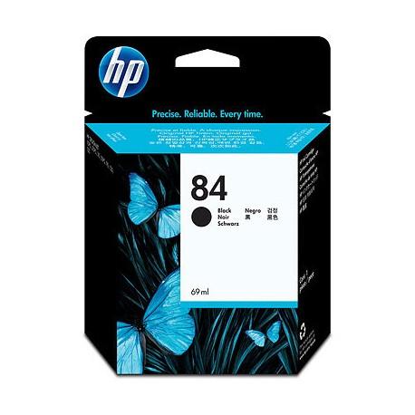 HP - Cartucho de tinta DesignJet 84 negro de 69 ml