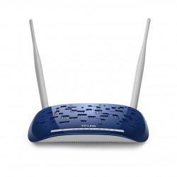 TP-LINK - TD-W8960N Banda única (2,4 GHz) Ethernet rápido Blanco router inalámbrico