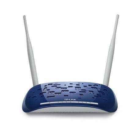 TP-LINK - TD-W8960N Banda única (2,4 GHz) Ethernet rápido Color blanco router inalámbrico