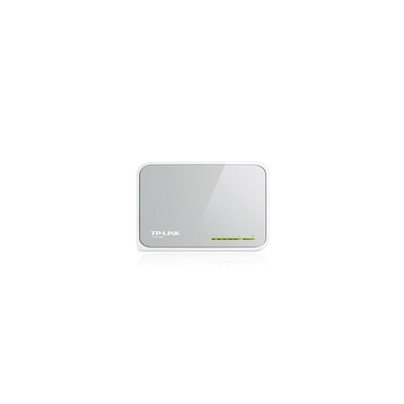 TP-LINK - 5-Port 10/100Mbps Desktop Switch