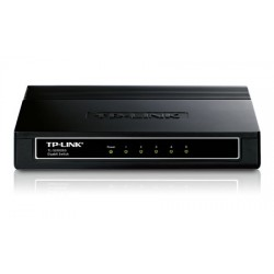 TP-LINK - TL-SG1005D switch No administrado Gigabit Ethernet (10/100/1000) Negro