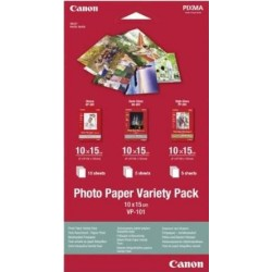 Canon - Photo Paper Variety Pack papel fotográfico - 0775B078