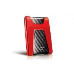 ADATA - DashDrive Durable HD650 1000GB Rojo disco duro externo