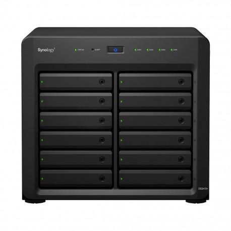 Synology - DS2415+ NAS Ethernet Negro servidor de almacenamiento