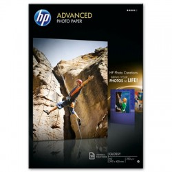 HP - Q8697A papel fotográfico De alto brillo A3