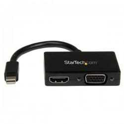 StarTech.com - Adaptador Mini DP de Audio/Vídeo para Viajes - Conversor Mini DisplayPort a HDMI o VGA - 1920x1200 1080p