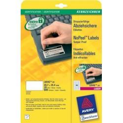 Avery - L6145-20 etiqueta de impresora