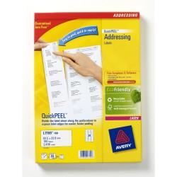 Avery - L7159-100 etiqueta para dirección