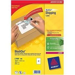 Avery - L7168-100 etiqueta autoadhesiva