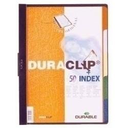 Durable - DURACLIP Black A4