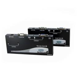 StarTech.com - Extensor de Consola KVM por Cat 5 Ethernet (150m) con USB y Vídeo VGA